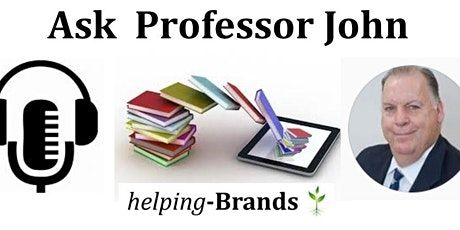 Ask Professor John  Wednesday nights at 7pm tickets