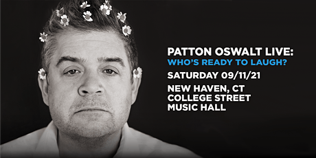 Patton Oswalt Live: Who's Ready To Laugh? tickets
