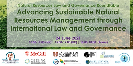Natural Resources Law and Governance Roundtable 2021 tickets