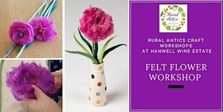 Felt Flower Workshop tickets