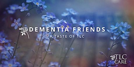 Virtual Dementia Friends tickets