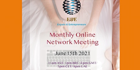 Expats & Entrepreneurs  Networking Meeting - June tickets
