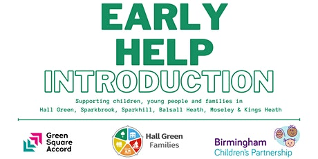 Working together to support families: Your Early Help  in Hall Green tickets