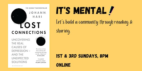 Book Club - Lost Connections - Chapter 13: Role of Genes and Brain Changes tickets
