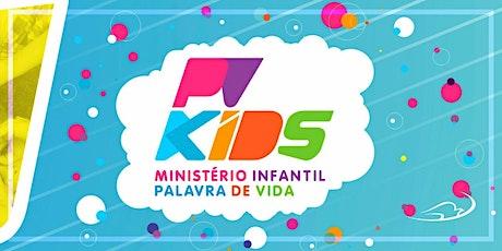 Ministério Infantil - 10/11 anos - Domingo - 13/06/2021 ingressos
