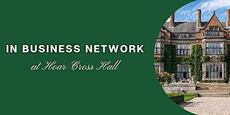 IN Business Network @ Hoar Cross Hall billets