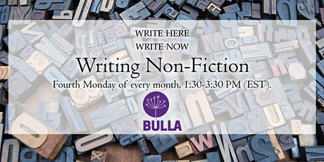 Writing Non-Fiction tickets
