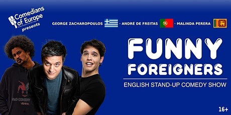 Funny Foreigners - English Stand Up Comedy Show tickets