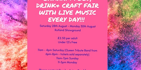 Oakham Food, Drink and Craft Fair with Live Music Every Day tickets