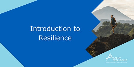 Introduction to Resilience - Online Workshop tickets