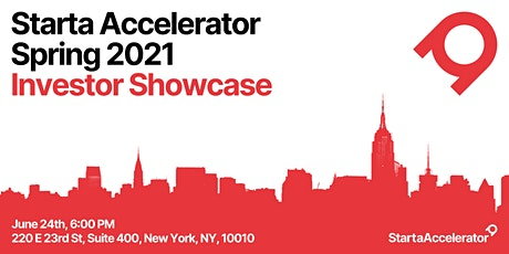Starta Accelerator Spring 2021 Investor Showcase tickets