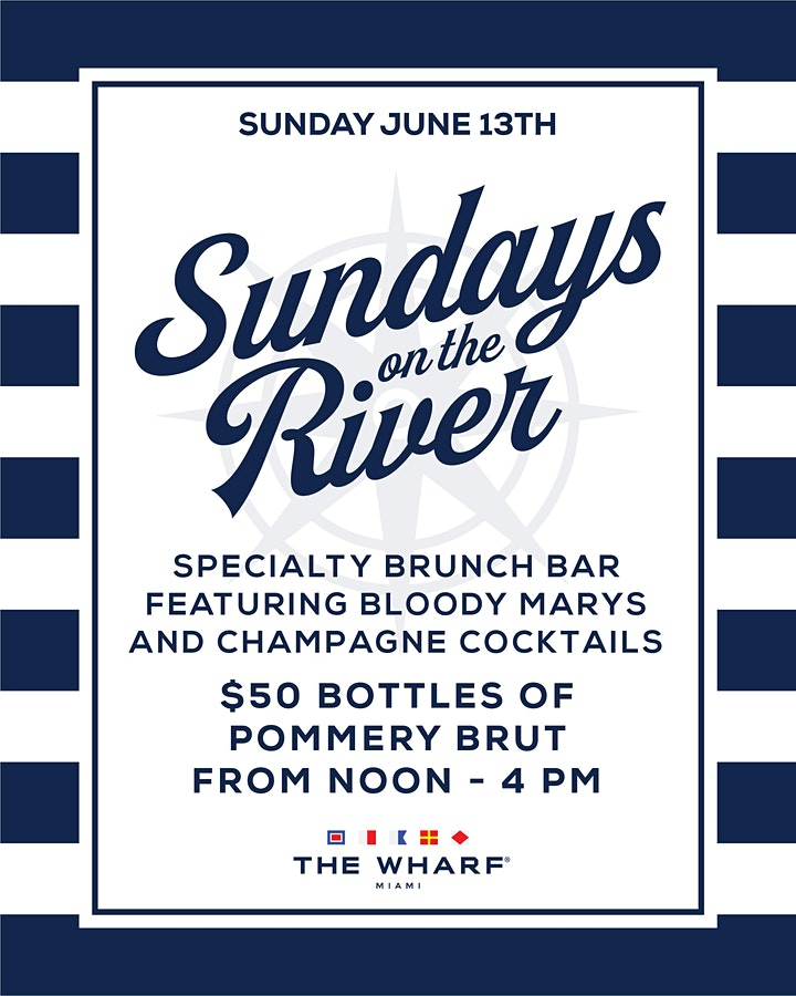 Sundays On The River at The Wharf Miami! image