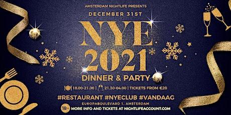 NYE Amsterdam Nightlife Dinner & Party 2021 tickets