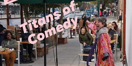 Titans of Comedy at Atlas Cafe tickets