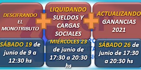 CICLO DE ACTUALIZACIONES: MONOTRIBUTO, SUELDOS Y GANANCIAS entradas