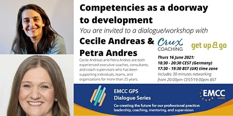 Cecile Andreas and Petra Andres : Competencies as a doorway to development tickets