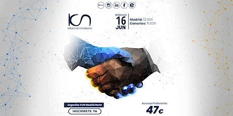 KCN Madrid Norte Speed Networking Online 16 Jun entradas