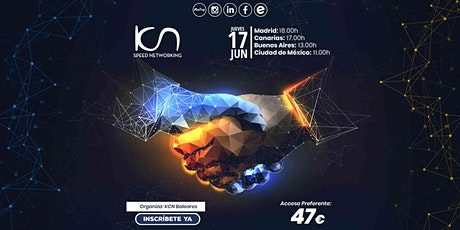 KCN Baleares Speed Networking Online 17 Jun entradas