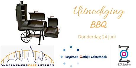 Zomer BBQ Ondernemerscafé, Inspiratie Ontbijt Achterhoek en ZZP Zutphen tickets