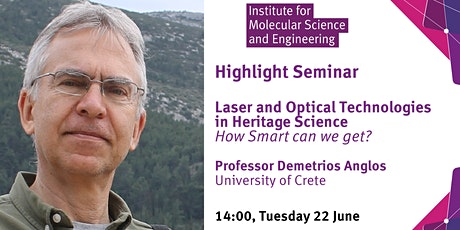 Laser and Optical Technologies in Heritage Science - How smart can we get? tickets