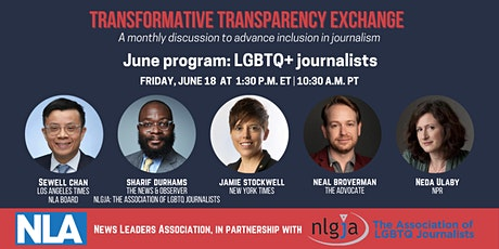 Transformative Transparency Exchange: LGBTQ+ journalists tickets