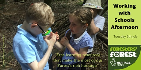 Foresters' Forest - Working with Schools Afternoon tickets