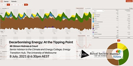 Decarbonising Energy: At the Tipping Point tickets