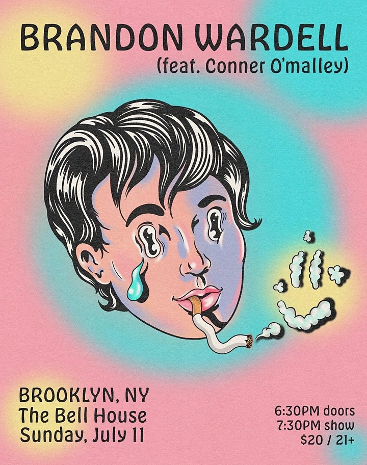 Brandon Wardell  **LATE SHOW ADDED** image