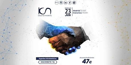 KCN Madrid Sur Speed Networking Online 23 Jun entradas