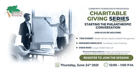 Charitable Giving Series - Starting the Philanthropic Conversation tickets