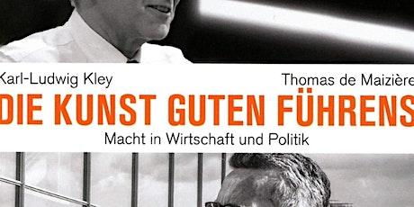 SALON LUITPOLD_Führen in Politik und Wirtschaft (online) Tickets