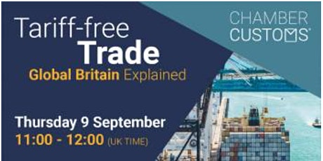 Tariff Free Trade – Global Britain Explained tickets