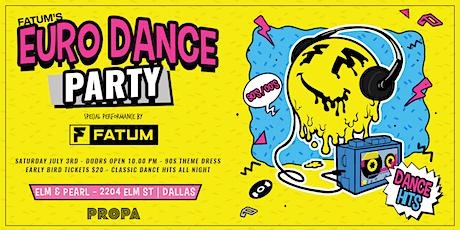 Fatum's Euro Dance Party [Dallas, Tx] tickets
