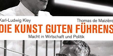 SALON LUITPOLD_Führen in Politik und Wirtschaft (vor Ort) Tickets