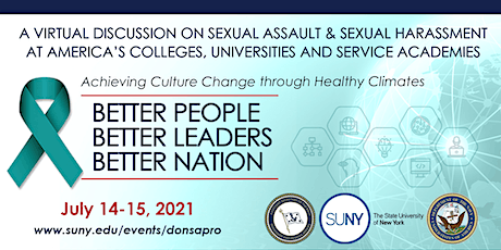 Virtual Discussion on Sexual Assault and Sexual Harassment tickets