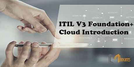 ITIL V3 Foundation + Cloud Introduction 3 Days Training in Guadalajara entradas