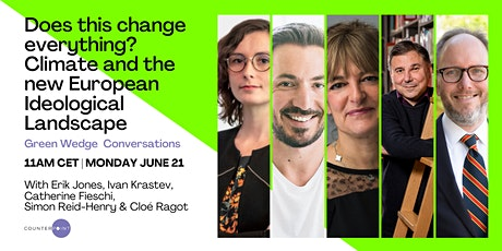 Does This Change Everything? Climate & New European Ideological Landscape entradas