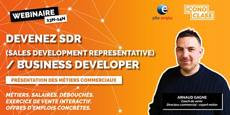 Présentation métier: Devenez SDR  / Business Developer billets