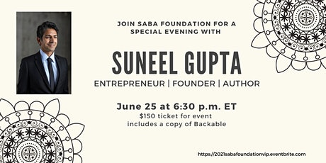 An Evening with Entrepreneur, Founder, and Author Suneel Gupta tickets