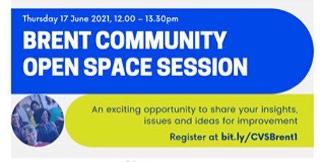 Brent Voluntary and Community Sector Open Space Event tickets