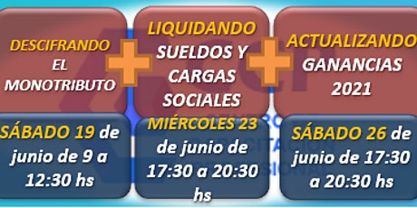 CICLO DE ACTUALIZACIONES: MONOTRIBUTO, SUELDOS Y GANANCIAS (IOL) entradas