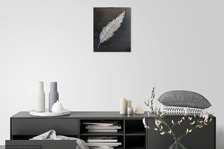 Paint a Silver/Gold Feather! Leeds, UK image