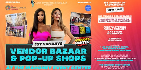 1st Sundays Vendor Bazaar & Pop-Up Shops tickets