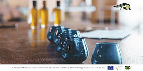 Laboratorio di assaggio e cultura dell'olio e delle olive biglietti