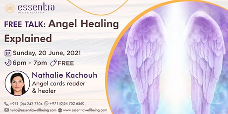 Free Talk: Angel Healing Explained with Nathalie Kachouh tickets