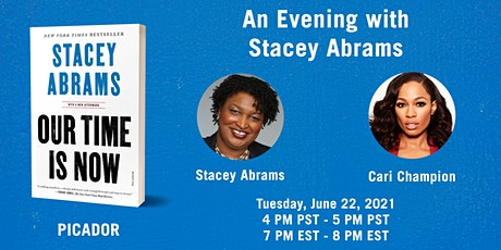 An Evening with Stacey Abrams tickets