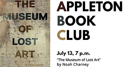 """Appleton Book Club: """"The Museum of Lost Art"""" tickets"""