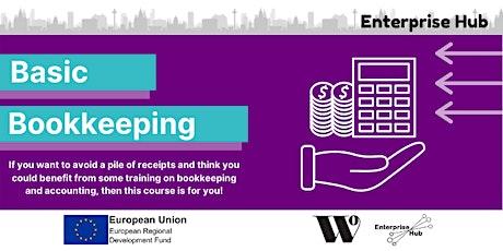 Enterprise Hub Presents: Basic Bookkeeping tickets