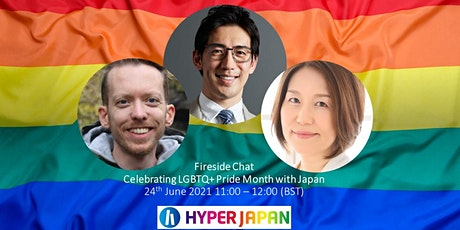 Free Fireside Chat : Celebrating LGBTQ+ Pride Month with Japan tickets