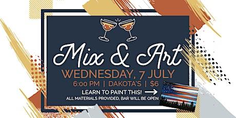 Mix & Art: Painting Class tickets